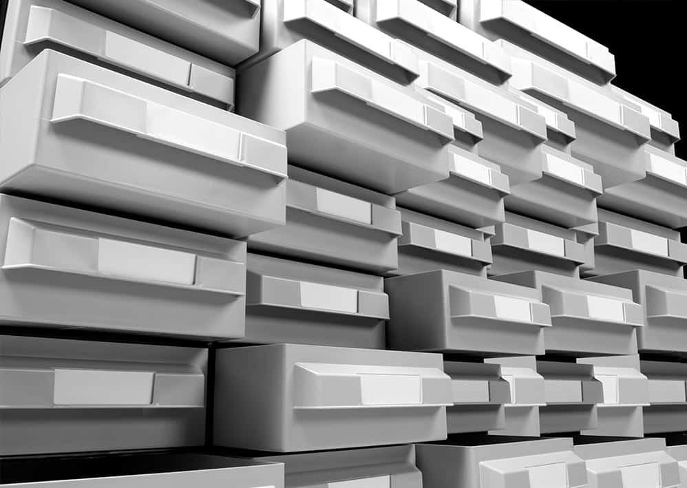 Cassettiere In Plastica Per Magazzino.Vipa Industria Stampaggio Materie Plastiche